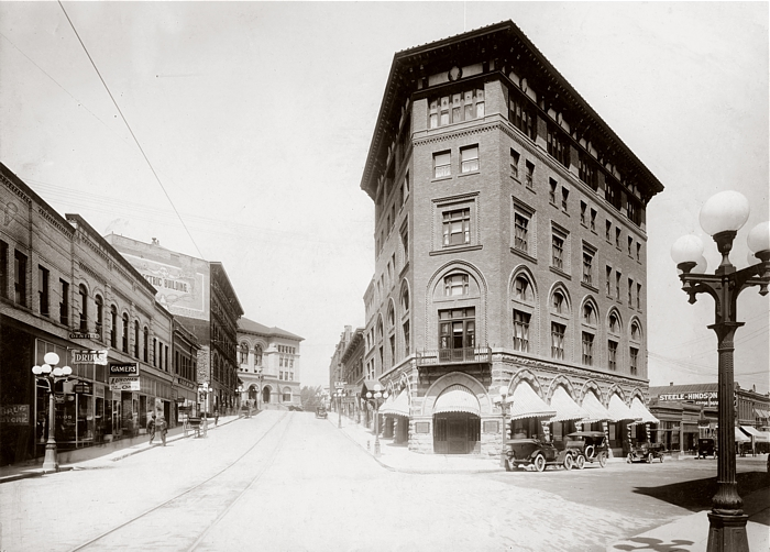 West Sixth Avenue circa 1915